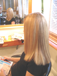 Thermal Reconditioning - Japanese Straightening - TR